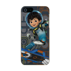 Miles Callisto On His Blastboard Graphic Metallic iPhone SE/5/5s Case