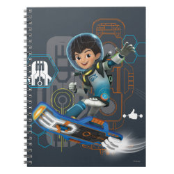 Miles Callisto On His Blastboard Graphic Notebook