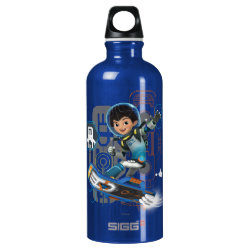 Miles Callisto On His Blastboard Graphic Water Bottle