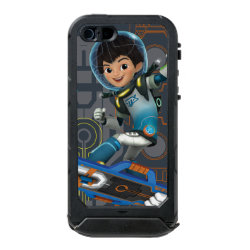 Incipio Feather Shine iPhone 5/5s Case with Miles Callisto on his Blastboard design