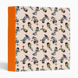 Avery Signature 1' Binder with Miles from Tomorrowland Cute Pattern design