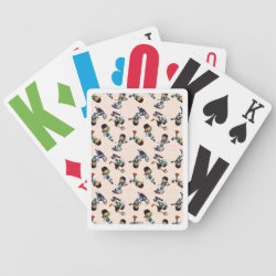 Miles Callisto Pattern Bicycle Playing Cards