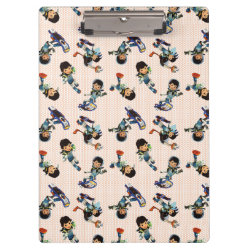 Clipboard with Miles from Tomorrowland Cute Pattern design