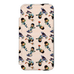 Incipio Watson™ iPhone 5/5s Wallet Case with Miles from Tomorrowland Cute Pattern design
