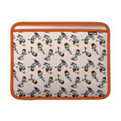 Macbook Air Sleeve with Miles from Tomorrowland Cute Pattern design