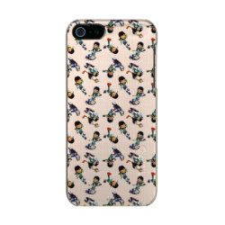 Miles Callisto Pattern Metallic iPhone SE/5/5s Case