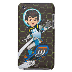 Case-Mate iPod Touch Barely There Case with Miles Callisto riding his Blastboard design