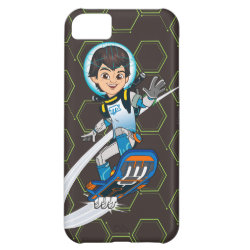 Case-Mate Barely There iPhone 5C Case with Miles Callisto riding his Blastboard design