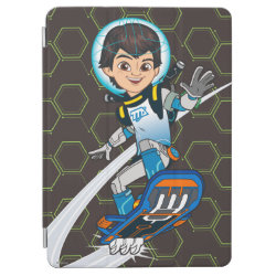 iPad Air Cover with Miles Callisto riding his Blastboard design