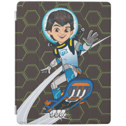iPad 2/3/4 Cover with Miles Callisto riding his Blastboard design