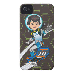 Case-Mate iPhone 4 Barely There Universal Case with Miles Callisto riding his Blastboard design
