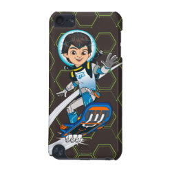 Case-Mate Barely There 5th Generation iPod Touch Case with Miles Callisto riding his Blastboard design