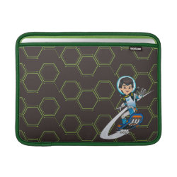 Macbook Air Sleeve with Miles Callisto riding his Blastboard design