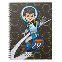 Photo Notebook (6.5' x 8.75', 80 Pages B&W) with Miles Callisto riding his Blastboard design
