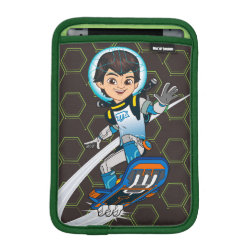 iPad Mini Sleeve with Miles Callisto riding his Blastboard design