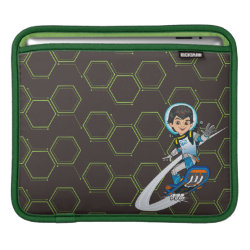 iPad Sleeve with Miles Callisto riding his Blastboard design