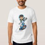 Miles Callisto Riding His Blastboard T-Shirt