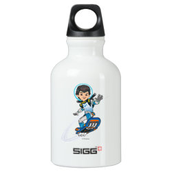 SIGG Traveller Water Bottle (0.6L) with Miles Callisto riding his Blastboard design
