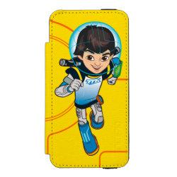 Incipio Watson™ iPhone 5/5s Wallet Case with Cartoon Miles Callisto Running design