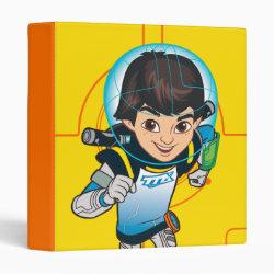 Avery Signature 1' Binder with Cartoon Miles Callisto Running design