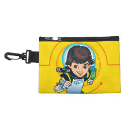 Clip On Accessory Bag with Cartoon Miles Callisto Running design
