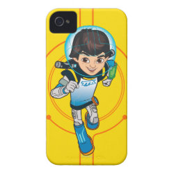 Cartoon Miles Callisto Running Case-Mate iPhone 4 Barely There Universal Case