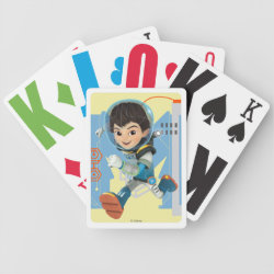 Miles Callisto from Tomorrowland Playing Cards