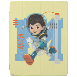 iPad 2/3/4 Cover with Miles Callisto from Tomorrowland design