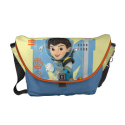 Rickshaw Medium Zero Messenger Bag with Miles Callisto from Tomorrowland design
