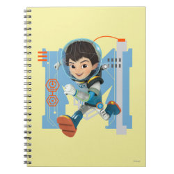 Photo Notebook (6.5' x 8.75', 80 Pages B&W) with Miles Callisto from Tomorrowland design