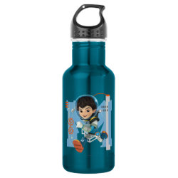 Water Bottle (24 oz) with Miles Callisto from Tomorrowland design