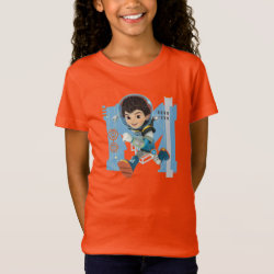 Girls' Fine Jersey T-Shirt with Miles Callisto from Tomorrowland design