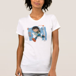 Women's American Apparel Fine Jersey Short Sleeve T-Shirt with Miles Callisto from Tomorrowland design