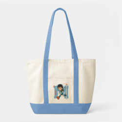 Impulse Tote Bag with Miles Callisto from Tomorrowland design