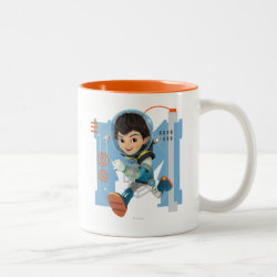 Two-Tone Mug with Miles Callisto from Tomorrowland design