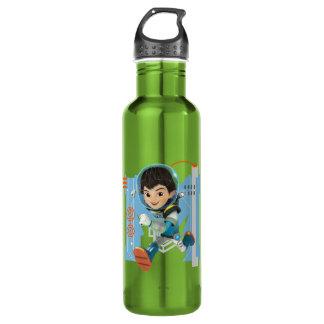 Miles Callisto Running - Circuitry Graphic Water Bottle