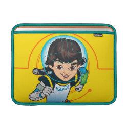 Macbook Air Sleeve with Cartoon Miles Callisto Running design