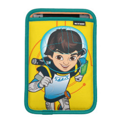 iPad Mini Sleeve with Cartoon Miles Callisto Running design