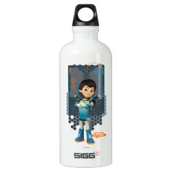 Miles Callisto Tech Graphic Aluminum Water Bottle