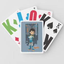 Playing Cards with Miles Callisto Space Explorer design