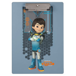 Clipboard with Miles Callisto Space Explorer design
