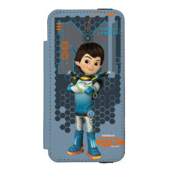 Incipio Watson™ iPhone 5/5s Wallet Case with Miles Callisto Space Explorer design