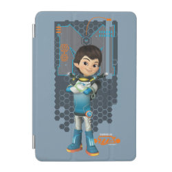 iPad mini Cover with Miles Callisto Space Explorer design