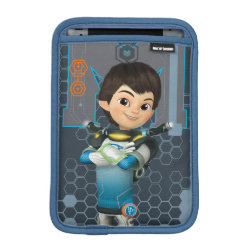 iPad Mini Sleeve with Miles Callisto Space Explorer design
