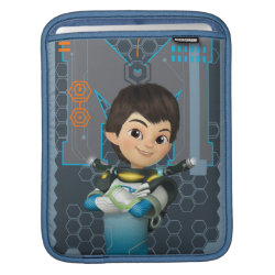 iPad Sleeve with Miles Callisto Space Explorer design