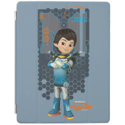 iPad 2/3/4 Cover with Miles Callisto Space Explorer design