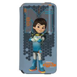 Incipio Watson™ iPhone 6 Wallet Case with Miles Callisto Space Explorer design
