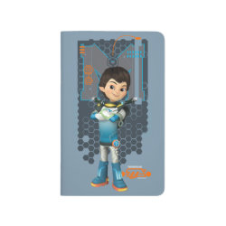 Pocket Journal with Miles Callisto Space Explorer design