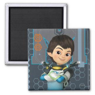 Miles Callisto Tech Graphic 2 Inch Square Magnet