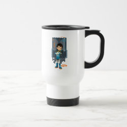 Travel / Commuter Mug with Miles Callisto Space Explorer design